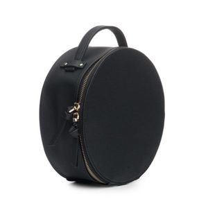 Hudson + Bleeker Preto Nomad Round Travel Case
